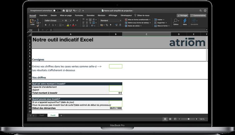 Outil Excel Calcul de rentabilité