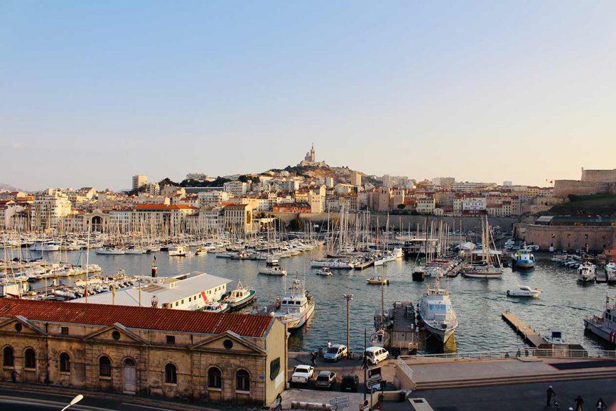 Marseille Port et hauteurs